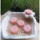 Vela de Té YLANG YLANG cera vegetal, aromatica, Grande 20ml, 4 unidades