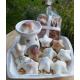 Pastilla ROSAS cera de SOJA NATURAL para quemadores, ecológica 20ml, 1-4 unidades