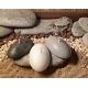 Vela de Piedra. Color Blanca, Gris, Negra, Cera Vegetal