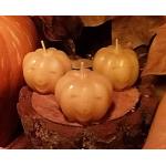 Vela Calabaza Halloween cera pura de abejas, 30gr
