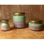Vela de masaje MENTE CLARA CONCENTRACIÓN soja, romero, lavanda y menta, ecológica 30-100-200ml