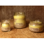 Vela de masaje PIEL DESLUMBRANTE soja, canela y limón, ecológica 30-100-200ml
