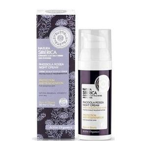Crema facial de noche Protección e Hidratación piel sensible 50ml, Natura Sibérica