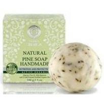 Jabón de Pino Natural artesano, hecho a mano 100gr, Natura Sibérica