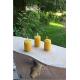 Vela mini 3x2cm cera pura panal de abeja, recambio velas flotantes