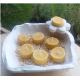 Vela de Té CITRONELA ANTIMOSQUITOS cera vegetal, aromatica, Grande 20ml, 4 unidades