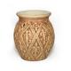 Quemador de aceites y ceras perfumadas. Cerámica Oriental Marrón