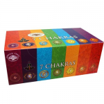Incienso 7 Chakras. Intenso aroma Green Tree 15 varillas