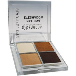 Paleta Sombra de Ojos BIO Quatro COFEE & CREAM, Benecos