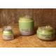 Vela de masaje ESTRÉS, ANSIEDAD, DEPRESIÓN soja, bergamota, limón y lavanda, ecológica 30-100-200ml