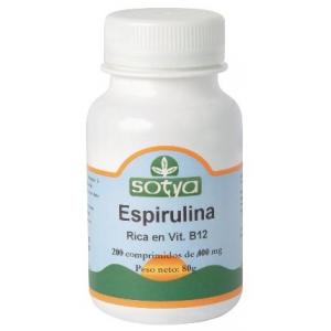 ESPIRULINA 100,200 comprimidos de 500mg, Sotya
