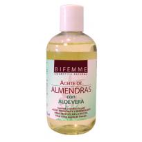 Aceite ALMENDRAS Dulces con ALOE VERA Bifemme 250ml, Ynsadiet