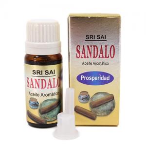 Aceite de Fragancia SÁNDALO Calidad Extra 10ml, Sri Sai