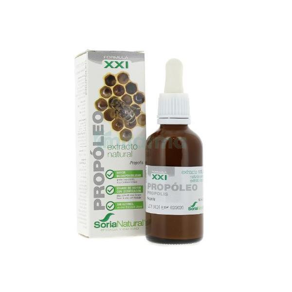 Comprar Extracto de PROPOLEO XXI 50ml, Soria Natural  Defensas,  Antiinflamatorio y antiviral