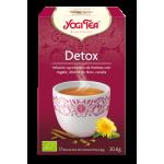 Infusión DETOX BIO 17 sobres Ayurvédica, Yogi Tea