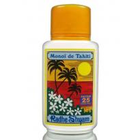 Aceite Solar FPS 25 Monoï de Tahiti Protección muy Alta 150ml, Radhe Shyam