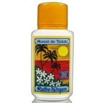 Aceite Solar FPS 20 Monoï de Tahiti Protección Alta 150ml, Radhe Shyam