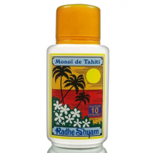 Aceite Solar FPS 10 Monoï de Tahiti Protección Media 150ml, Radhe Shyam