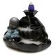 Fuente de HUMO Bebé relax cerámica negra