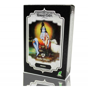 Henna Negro Polvo 100gr, Radhe Shyam