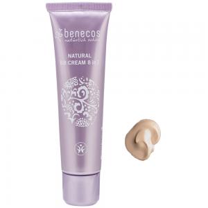 BB Cream FAIR 8 en 1 BIO Piel clara 30ml, Benecos