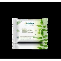 Toallitas faciales NEEM y CÚRCUMA Purificantes 25ud, Himalaya Herbals