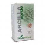 Arcilla Verde natural 250gr, Soria Natural