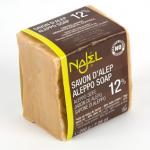 Jabón de Alepo 12% Laurel 88% Oliva 200gr, Najel
