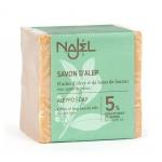 Jabon de Alepo 5% laurel 95% Oliva 190gr, Najel. Piel seca
