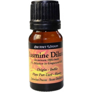 Aceite esencial JAZMÍN DILUÍDO, 10ml - Aromaterapia