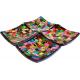 Jabonera mosaico Multicolor artesanal