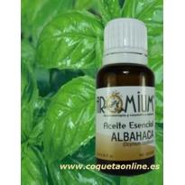 Aceite esencial ALBAHACA 10ml - Aromaterapia