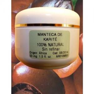 Manteca de Karité BIO pura 225ml, sin refinar, sin perfume