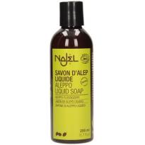 Jabon Líquido Alepo BIO 200ml, Oliva y 3% Laurel Todo tipo de piel Najel
