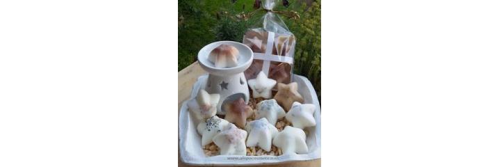 Cera de Soja perfumadas Naturales: Ambientadores, decoración, quemadores